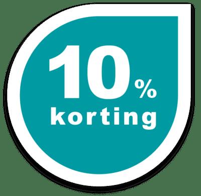 10 procent korting